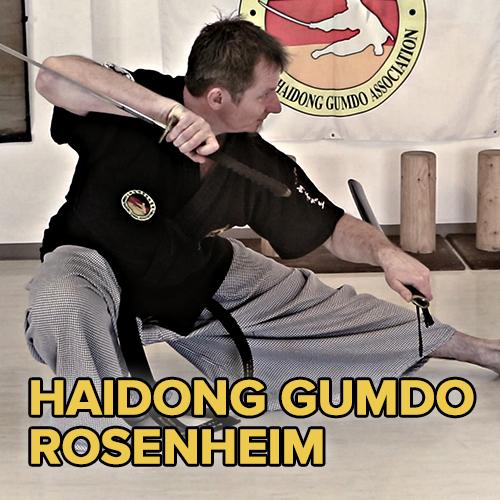 Haidong Gumdo in Rosenheim