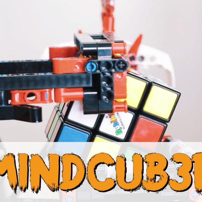 Kann dieser Lego-Roboter den Zauberwürfel lösen? Mindcub3r. QTV#10